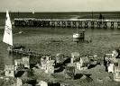 Seebrücke und Strand 1932