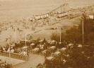 Strandhalle und Rutsche 1929